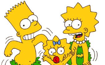 Bart, Lisa et Maggie Simpson