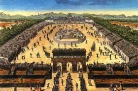 La fête de la Fédération à Paris le 14 juillet 1790