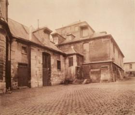 L'hospice de Bicêtre (1901) par Eugène Atget