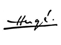 La signature d'Hergé