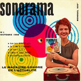 Le premier numéro de Sonorama (octobre 1958)