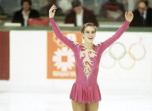 Katarina Witt aux Jeux olympiques d'hiver de 1984