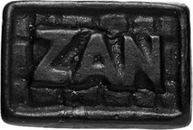 Un pain de Zan (réglisse)