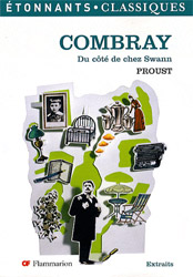 Couverture d'une édition de Combray de Marcel Proust