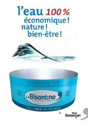 L'étiquette fictive de la Bisontine