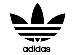 Le logo Adidas de 1971 à 1997