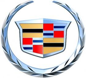 Le logo de Cadillac aujourd'hui : une version stylisée