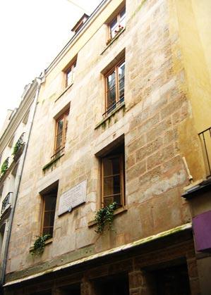 La maison de Nicolas Flamel à Paris