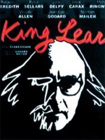 L'affiche du film King Lear de Jean-Luc Godard