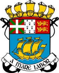 Le blason de Saint-Pierre-et-Miquelon