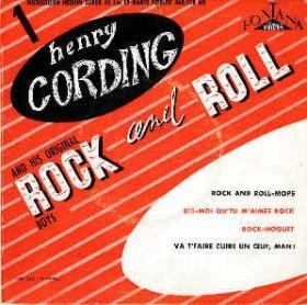 Le disque de rock'n'roll d'Henry Cording (Henri Salvador)