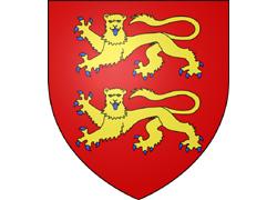Les armoiries du duché de Normandie
