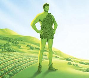 Le géant vert prend l'air de la campagne