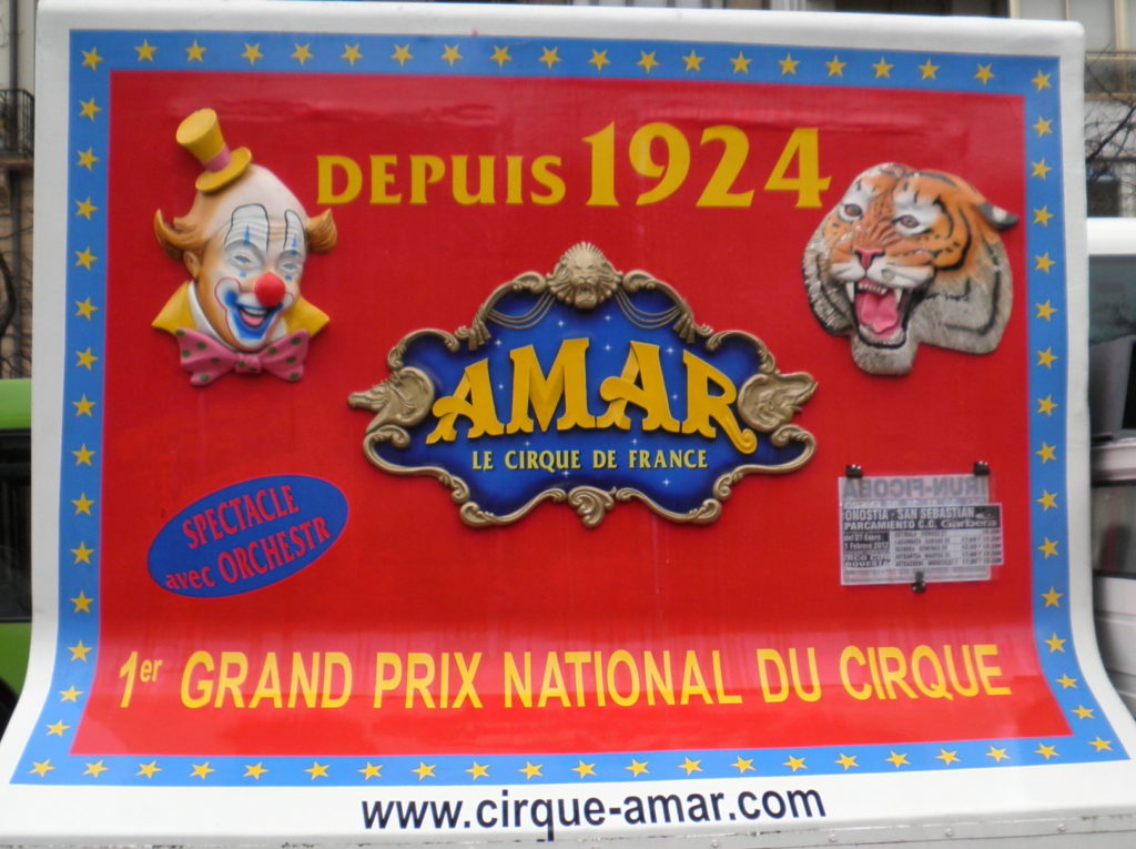Cirque Amar depuis 1924