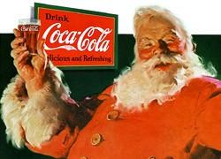 Le père Noël n'est pas né de l'imagination publicitaire de Coca-Cola