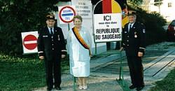République du Saugeais : un État formé de onze communes du Doubs