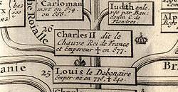 9 Français sur 10 descendent de Charlemagne