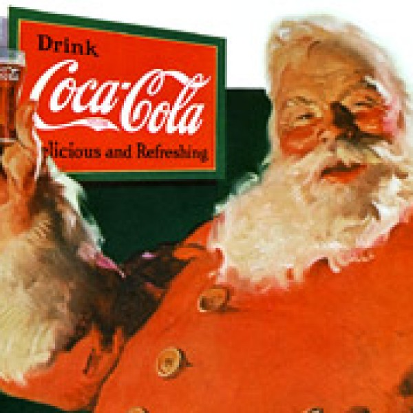 Image Pere Noel Coca Cola.Coca Cola Le Pere Noel N Est Pas Ne De L Imagination