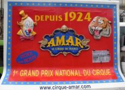 Le cirque Amar a été fondé par un dresseur algérien